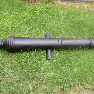 Hlaveň děla ráže 54 mm.